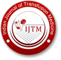 Indian Journal of Transfusion Medicine
